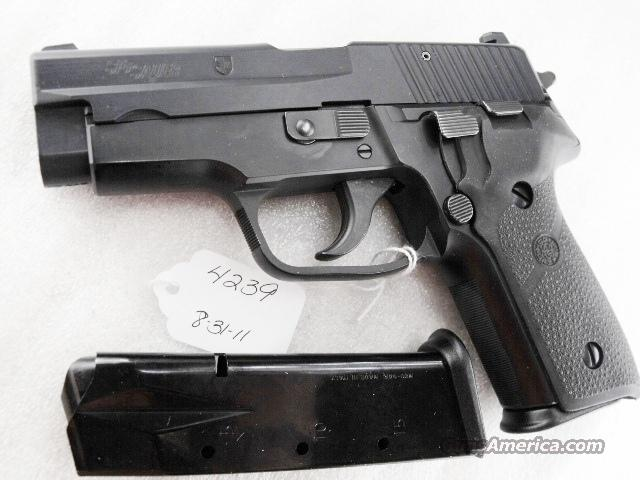 Sig 9mm P228 Black Ice Teflon Finish Swiss Police 16 Shot 2 Magazines 1992 All German Sig Sauer P-228 CA OK  Guns > Pistols > Sig - Sauer/Sigarms Pistols > P228