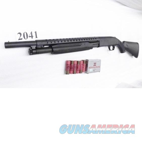 Mossberg 12 gauge model 500 Special Purpose Parkerized Trench Gun style Heat Shield 18 in 6 Shot Synthetic 2 3/4 or 3 inch 50521 Tactical Pump Riot Shotgun   Guns > Shotguns > Mossberg Shotguns > Pump > Tactical
