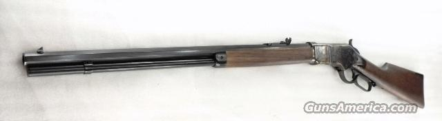 1866 Winchester 1873 style King's Improvement close Copy Chaparral Arms .45 Long Colt 1866 Color Casehardened Walnut Unfired ca 2009 Production Octagonal 24 inch  Guns > Rifles > Henry Rifles - Replica