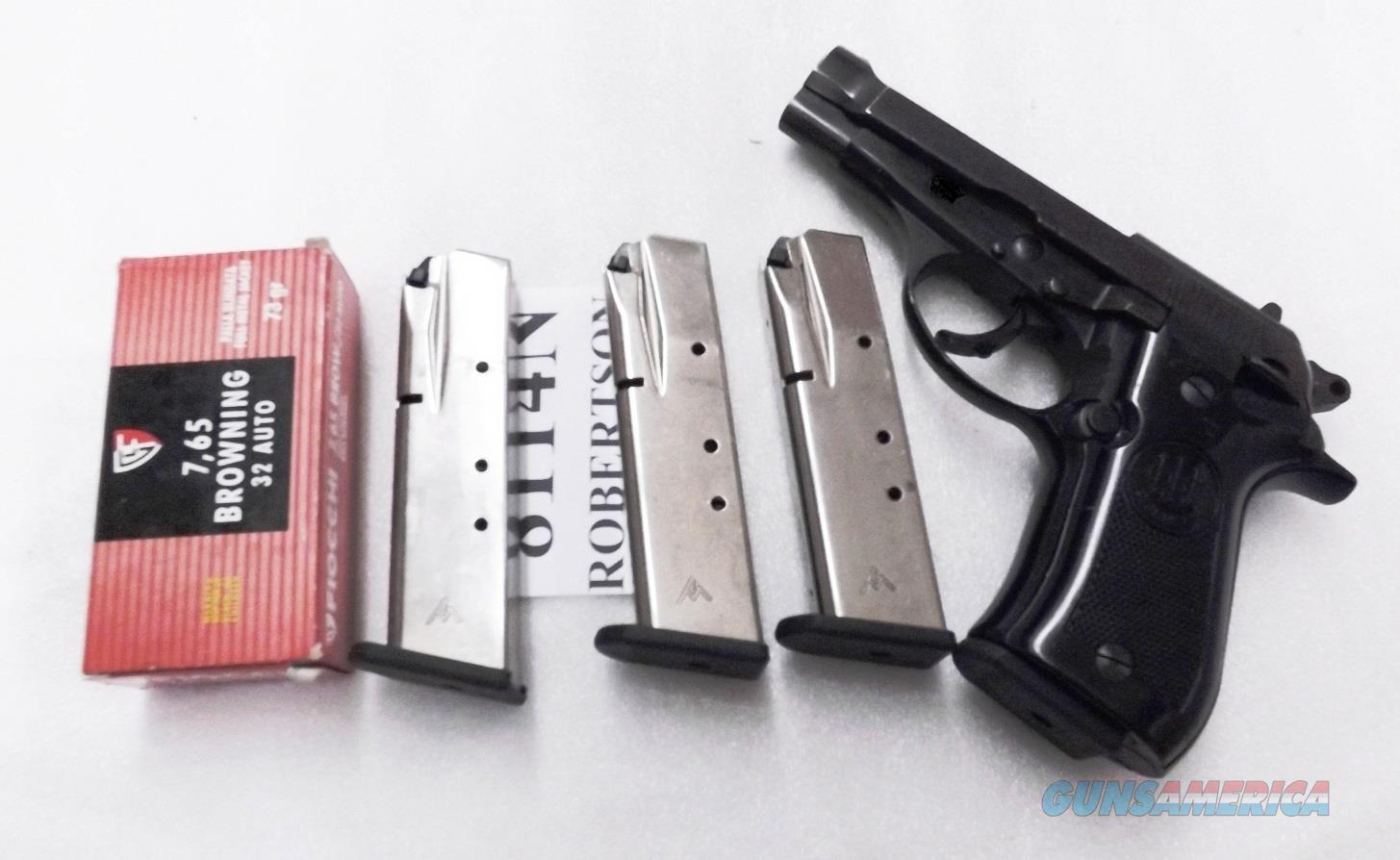 3 Beretta model 81 Cheetah .32 ACP Modified Mec-Gar 14 shot Nickel Magazines C85888 type $29 each Free Ship lower 48  Non-Guns > Magazines & Clips > Pistol Magazines > Beretta