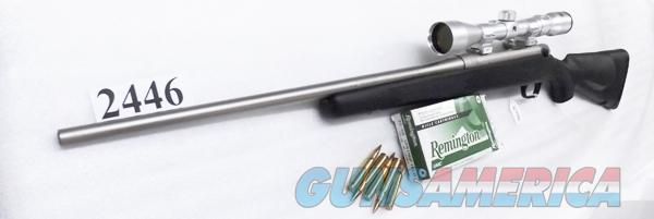 Mossberg .30-06 Model 100ATR Bolt Action 22 inch Rifle Marine Cote® Nickel Black Synthetic Stock 3x9x40 Scope 4+1 Shot 3006 Springfield caliber Bolt Action Rifle Factory Demo Exc 26150  Guns > Rifles > Mossberg Rifles > 100 ATR
