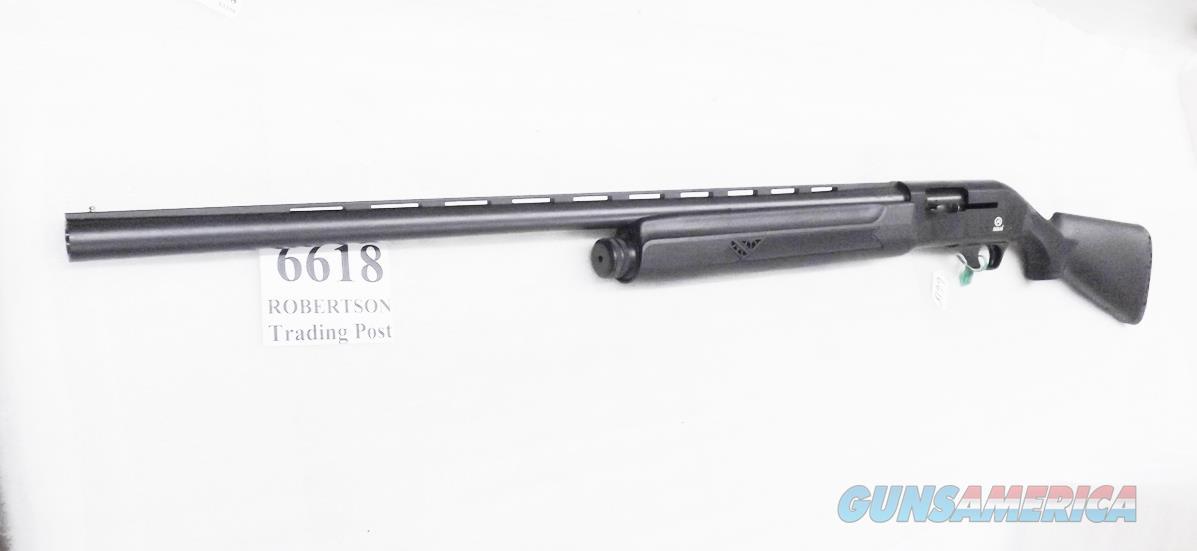 Akkar  model 600 Left Hand Auto 12 Gauge Synthetic 3 inch 28 in Vent 5 Shot Field Hunter Gas Operated Excellent 600LH  Rem-Choke 1 Tube Exc C65003 Charles Daly Importer 2010  Guns > Shotguns > AKKAR