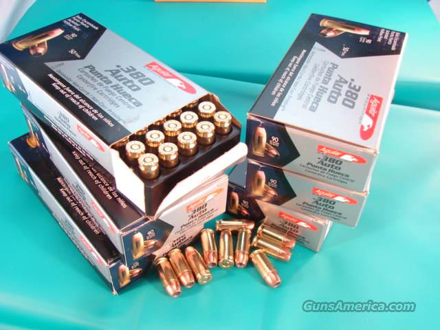 Ammo: .380 ACP Hollowpoint 50 Box Aguila   Non-Guns > Ammunition