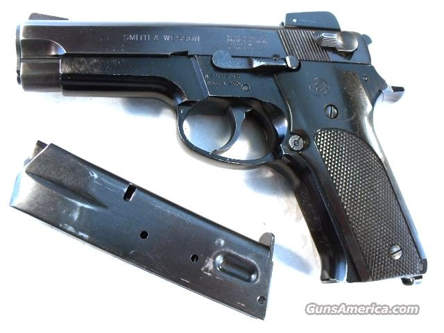 S&W 9mm Model 459 Lightweight Blue Adjustable Sights VG manufactured 1981 w/2 Mags Smith & Wesson Wonder Nine  Guns > Pistols > Smith & Wesson Pistols - Autos > Alloy Frame