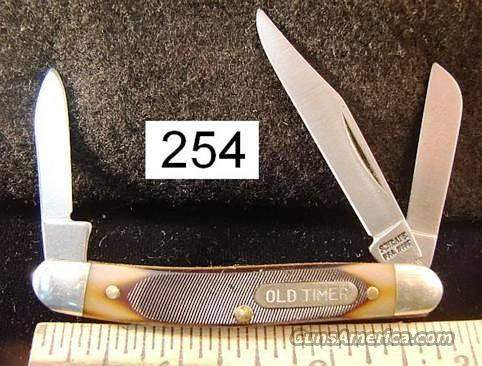Knife: Schrade US Made Old Timer Small Stockman 108OT Mint   Non-Guns > Knives/Swords > Knives > Folding Blade > Hand Made