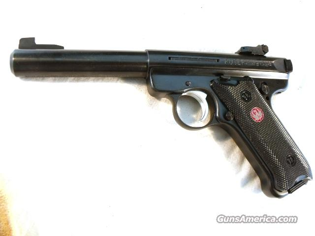 Ruger .22 LR Mark III Bull Barrel 5 1/2 Blue NIB 2 Magazines  Guns > Pistols > Ruger Semi-Auto Pistols > Mark I & II Family
