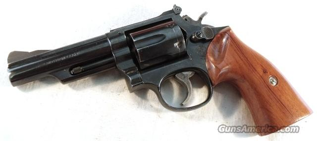 S&W .357 Magnum model 19-4  Blue 4 in Very Good 1980 Pinned & Recessed  Guns > Pistols > Smith & Wesson Revolvers > Full Frame Revolver