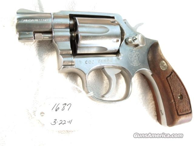 Smith & Wesson .38 Special model 64-2 Stainless Snub 2 inch Round Butt California Dept of Corrections VG 1990  Guns > Pistols > Smith & Wesson Revolvers > Pocket Pistols