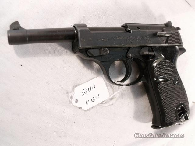 Walther 9mm P-38 Lightweight Parkerized VG 1960 P38 Federal German Police Bundespolizei C&R OK CA OK  Guns > Pistols > Surplus Pistols & Copies