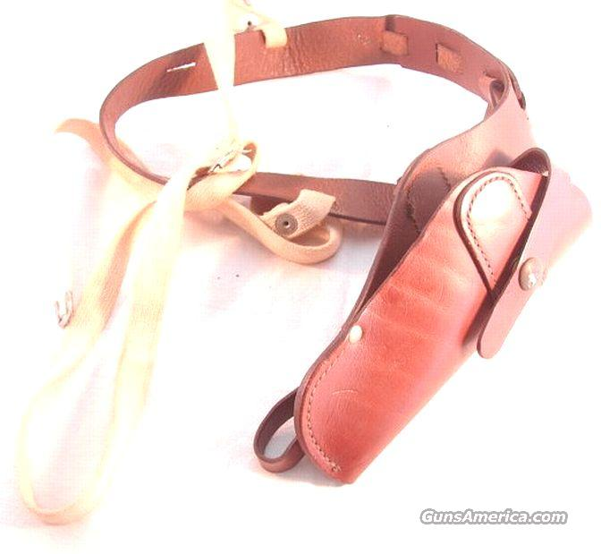 Colt Brand Leather Shoulder Holster Small Frame Revolver ca 1960s Exc GL32CLT  Non-Guns > Holsters and Gunleather > Shoulder Holsters