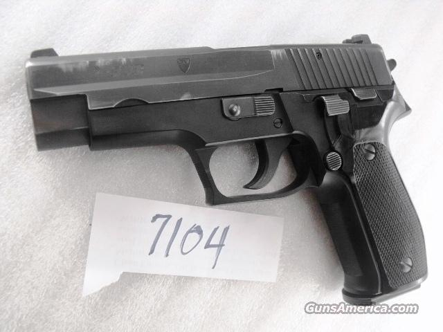 Sig 9mm P-226 Swiss Police Original Box Test Target P226 Sig Sauer all German with 1 Pre-Ban Magazine CA MA OK mfg 1993 		  Guns > Pistols > Sig - Sauer/Sigarms Pistols > P226