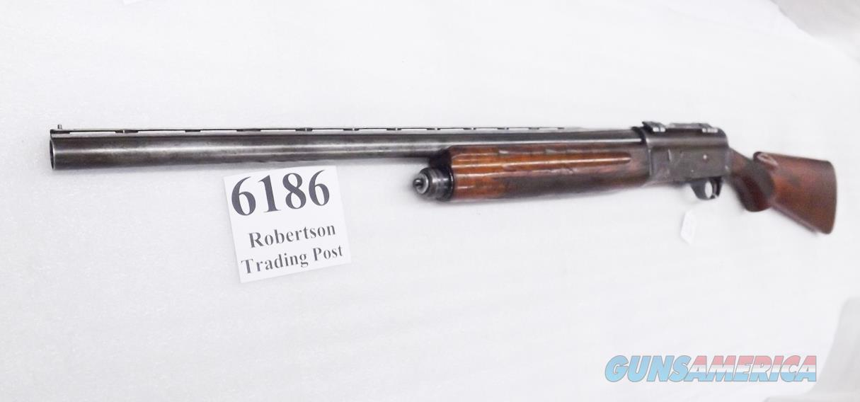 "Japanese made Browning A5 Clone Yamamoto Auto Pointer 2 3/4 inch 24"" Cut Cylinder Bore Scope Base Vent Rib Tang Repairs ca. 1968 Manufacture Walnut Stock & Forend Fair  Guns > Shotguns > Browning Shotguns > Autoloaders > Hunting"