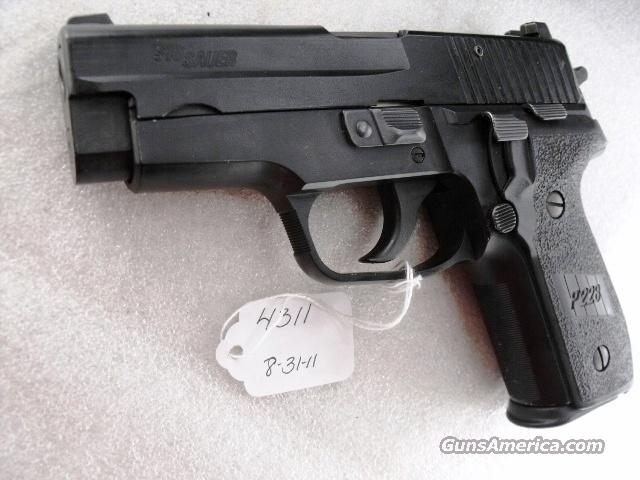Sig 9mm P228 Swiss Police 14 Shot 2005 VG-Exc  2 Magazines Night Sights K Kote All German Sig Sauer P-228 CA OK Solothurn Shield  Guns > Pistols > Sig - Sauer/Sigarms Pistols > P228