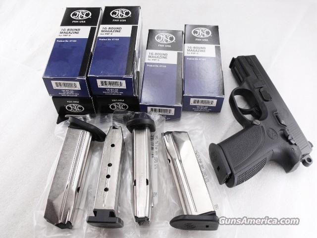 Magazine FNP9 Factory Stainless 16 Shot FNP-9 Pistol Brand New Fabrique Nationale FNH SKU 471030   Non-Guns > Magazines & Clips > Pistol Magazines > Other