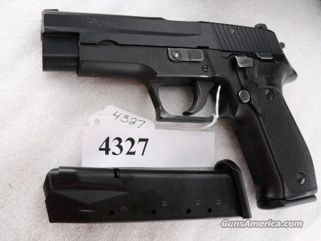 Sig 9mm P-226 Swiss Police Black Ice Teflon Slide P226 Sig Sauer all German with two new Mec-Gar 18 Round Magazines CA MA OK 1988 		  Guns > Pistols > Sig - Sauer/Sigarms Pistols > P228