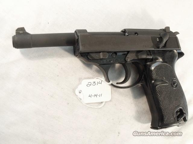 Walther 9mm P-38 variant P1 Lightweight Parkerized Steel Excellent 1979 P38 P-1 Federal German Police Bundespolizei CA OK  Guns > Pistols > Walther Pistols > Post WWII > Large Frame Autos