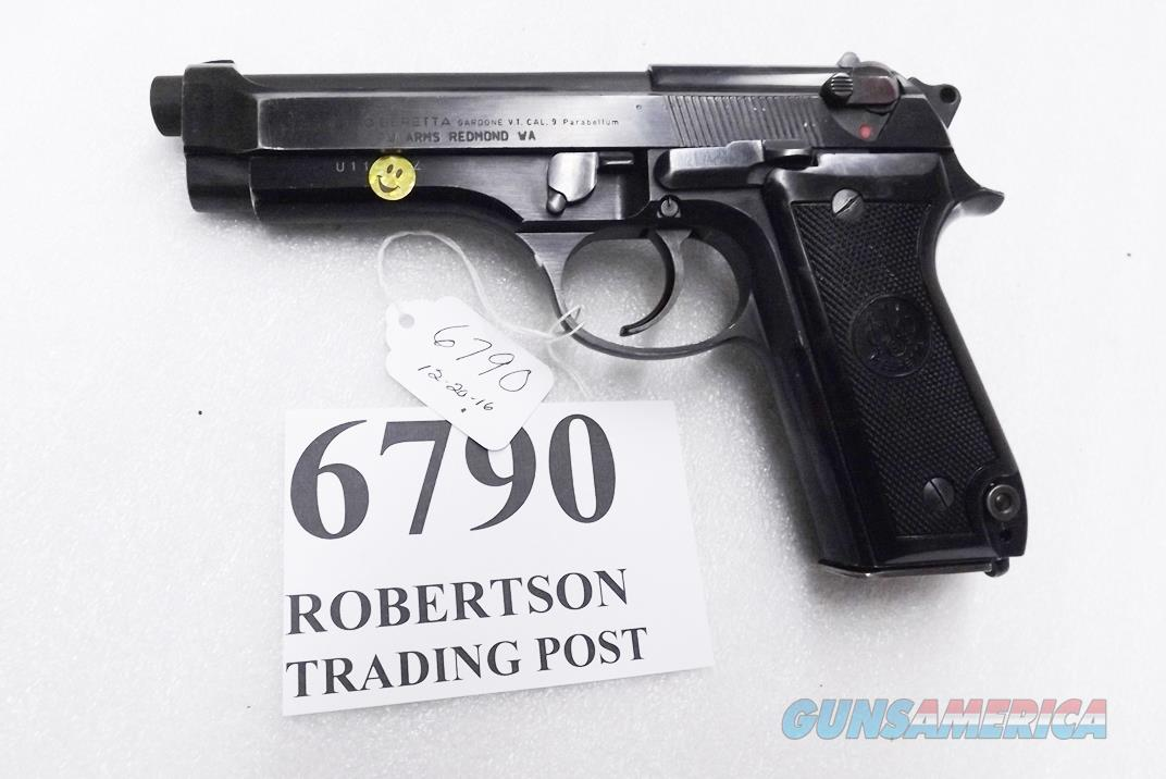 Beretta 9mm model 92S Italy Military Police Italian Carabinieri VG JS92F300M type / ancestor c1978 Stef Marked, Possibly Commander Stefano's Service Pistol  Guns > Pistols > Beretta Pistols > Model 92 Series
