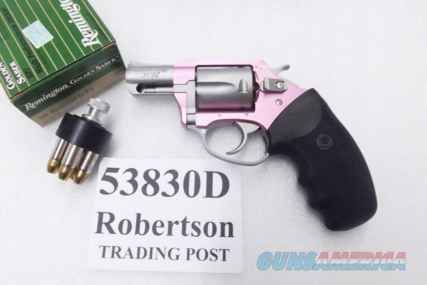 Charter Arms .38 Special Pink Lady variant Undercover Lite Stainless 2 inch 5 Shot Snub Excellent Factory Demo Box & Papers 53830    Guns > Pistols > Charter Arms Revolvers