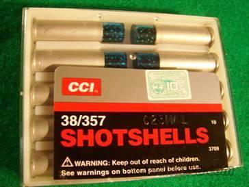 Ammo: .38 Special Shotshell 10 Round Boxes CCI Blazer 38 357 Magnum #9 Shot Ammunition Cartridges 3709  Non-Guns > Ammunition