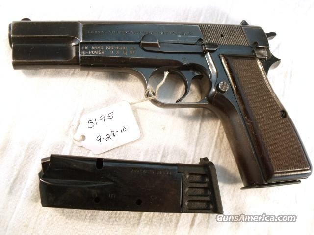 FN Browning 9mm Hi-Power Israeli Good 1988 w/2 Magazines  Guns > Pistols > Browning Pistols > Hi Power