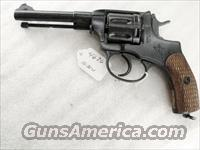 Nagant .32 S&W compatible World War II Nagant 7.62 Model 1895 Revolver Excellent 1938 with Holster & Kit 32 Smith & Wesson or 32 Tula Russia C&R CA OK	  Surplus Pistols & Copies
