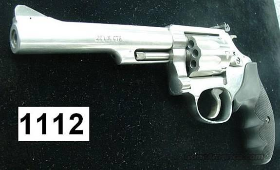 S&W 63-4 Sts 5 in .22 LR 8 Shot Near Mint in Box  Guns > Pistols > Smith & Wesson Revolvers > Full Frame Revolver