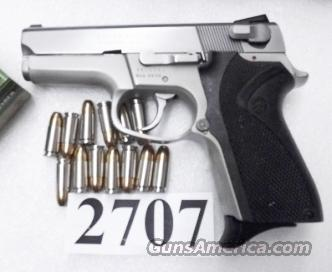 Smith & Wesson 9mm model 6906 Lightweight Stainless 13 Shot  Compact 3 Safeties 1 Magazine 104054  Guns > Pistols > Smith & Wesson Pistols - Autos > Alloy Frame
