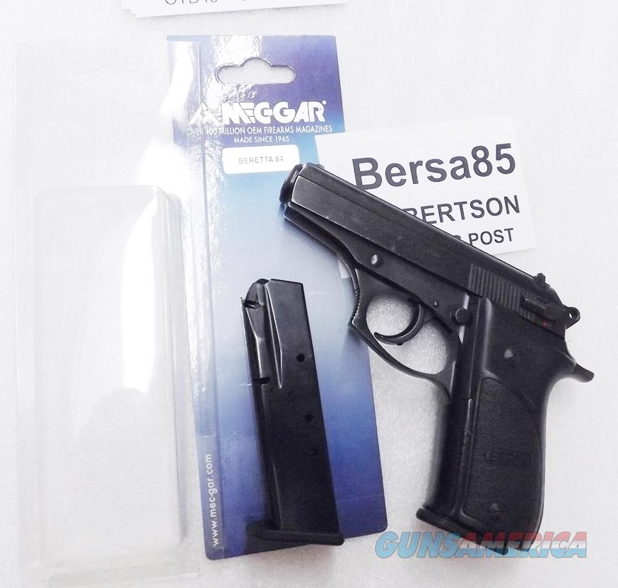 Professionally Fitted Magazines for Bersa 85 & 86 Pistols 13 Round BDA or Beretta 84 Mec-Gars modified to fit .380 ACP chambered Bersas   Buy 3 Ships Free!  Non-Guns > Magazines & Clips > Pistol Magazines > Other