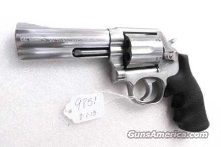 S&W .357 Magnum model 681-1 Stainless 4 inch CAI Stamped 1987 mfg Satin SS Hammer & Trigger 357 Distinguished Service Magnum Aussie   Guns > Pistols > Smith & Wesson Revolvers > Full Frame Revolver