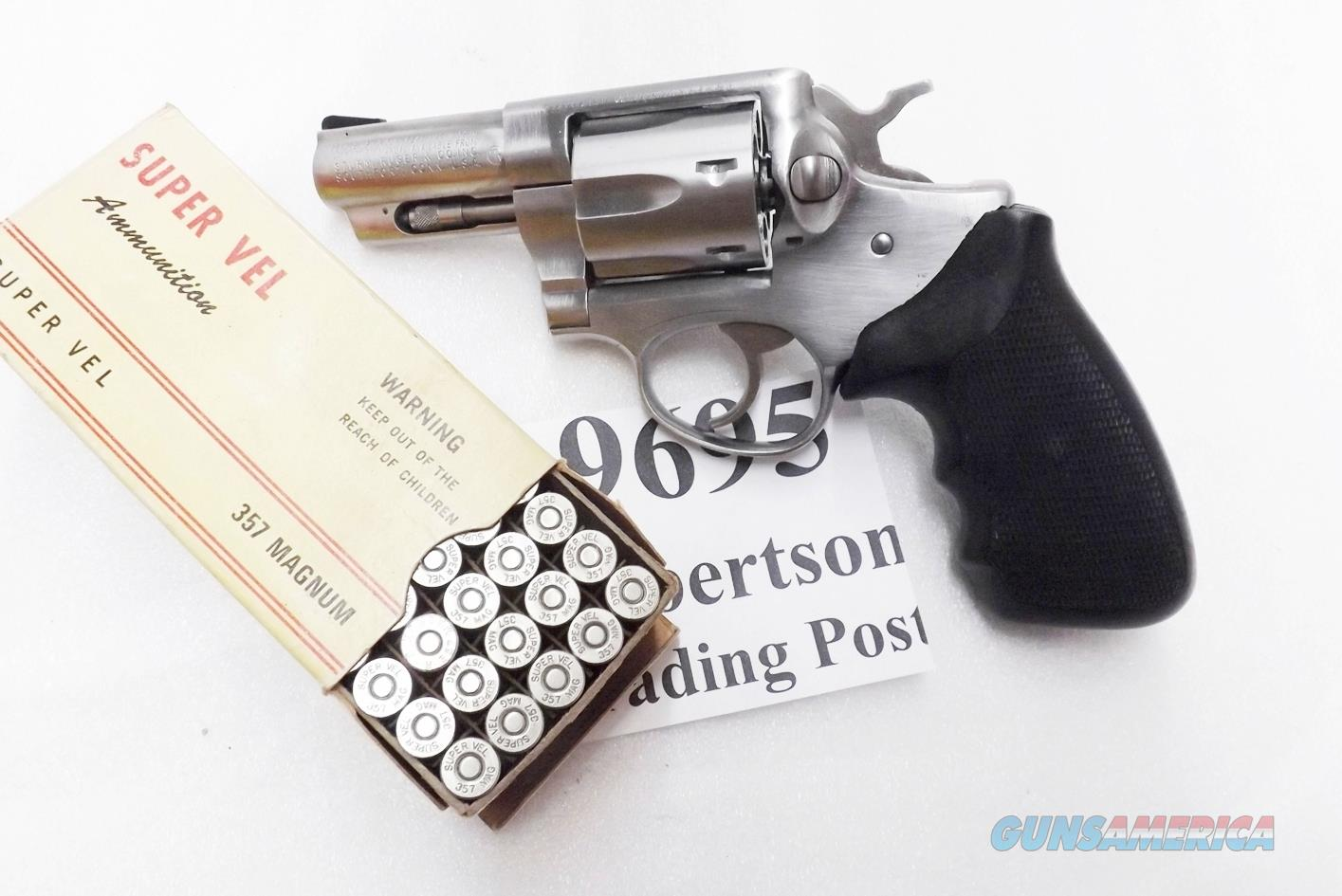 Ruger .357 Magnum Speed Six 2 3/4 inch Stainless 1982 production VG KGPF331 1712 type GS32   Guns > Pistols > Ruger Double Action Revolver > Security Six Type