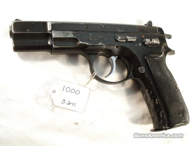 CZ-75 9mm Czech Police 1987  VG 1 High Capacity 15 Shot Magazine CZ75 CZ model 75 Ceska Zbrojovka Double Action Automatic.  Guns > Pistols > Surplus Pistols & Copies