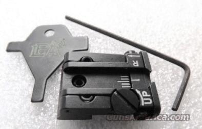 CZ75 Old Model Adjustable Rear Sight LSA Italy Low Profile Micro Style Black New in Box Pre-1998 Pre B Variant Pistols Only .344 / .345 dovetail but .308 Overall Height  Non-Guns > Iron/Metal/Peep Sights