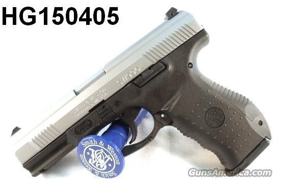S&W 9mm model SW990L Stainless Walther Design NIB 2 Mags 16 Shot  Guns > Pistols > Walther Pistols > Post WWII > Large Frame Autos