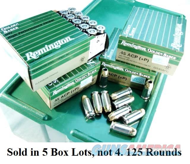 Ammo: .45 ACP +P Remington 185 BJHP Golden Saber GS45APC 250 round 10 Box Lot at $9.40 per box, $94.00 after Rebate. Rebate ends 11/30 Must be Postmarked by 12/19/15  Non-Guns > Ammunition