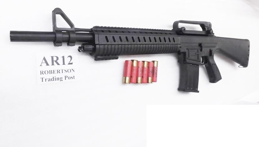 Leader Arms 12 gauge AR15 MKA 1919 type Akdal class Shotgun 2 Magazines Detachable AR Sights New Condition M1919   Guns > Shotguns > Saiga Shotguns > Shotguns