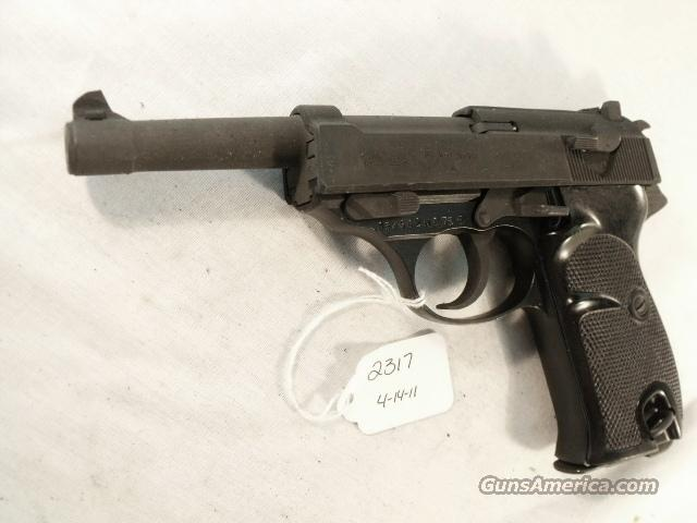 Walther 9mm P-38 variant P1 Lightweight Parkerized VG-Exc 1970 P-1 Federal German Police Bundespolizei CA OK P38   Guns > Pistols > Surplus Pistols & Copies
