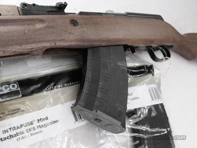 SKS 20 Shot 7.62x39 Tapco Intrafuse ®  Conversion Magazine 6620B 7.62x39 Zastava Norinco etc S-K-S    Non-Guns > Magazines & Clips > Rifle Magazines > SKS