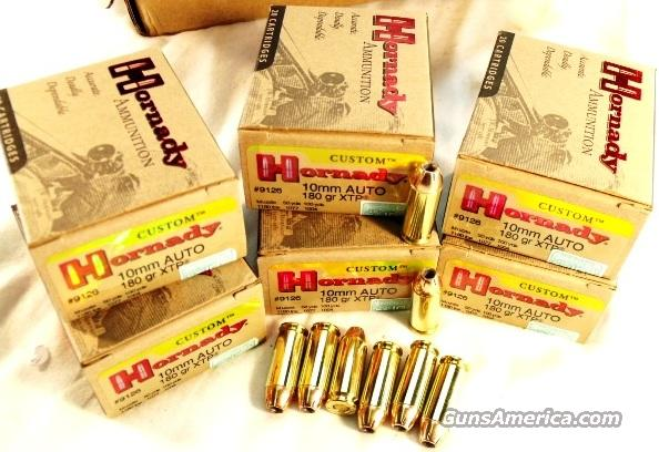 Ammo: 10mm Hornady 20 Round Boxes 180 grain XTP Hollow Point Ammunition Cartridges   Non-Guns > Ammunition