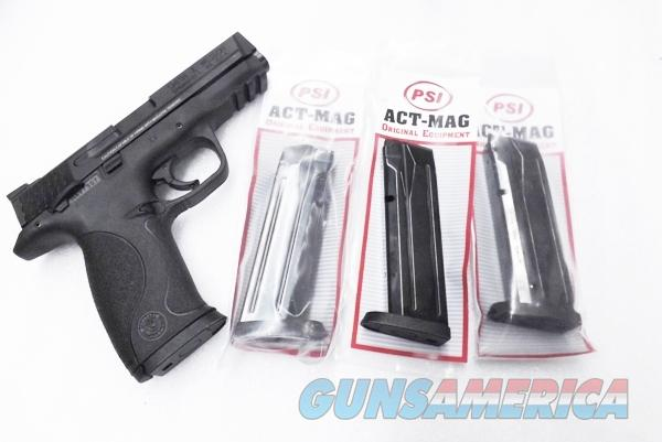 Lot of 3 Smith & Wesson M&P 9 17 Shot 9mm Act-Mag Magazines S&W MP9 Pistols M&P 9 High Capacity Steel New $ 23 per on 3 AMMP17PFB  Non-Guns > Magazines & Clips > Pistol Magazines > Smith & Wesson