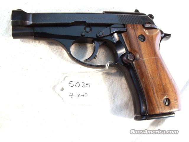 Beretta .32 ACP Cheetah 81-W Blue ca. 1979 Italian VG 1 Mag model 81 M81 M-81 32 Automatic  Guns > Pistols > Beretta Pistols > Small Caliber Tip Out