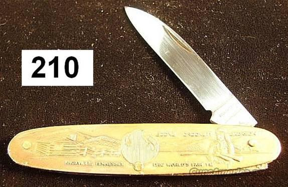 Knife: Parker Japan 1982 World's Fair Knoxville, TN  Non-Guns > Knives/Swords > Knives > Folding Blade > Hand Made