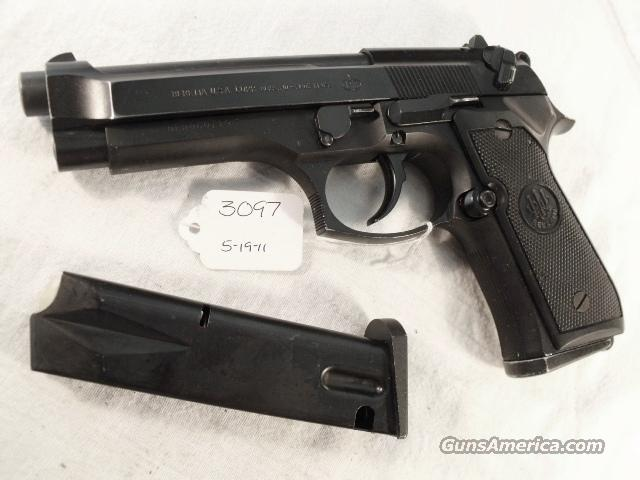 Beretta 9mm Model 92F 1990 Los Angeles County Sheriff's Department VG with 2 Italian Round Magazines  Guns > Pistols > Beretta Pistols > Model 92 Series