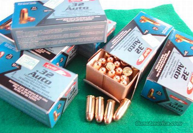 Ammo: .32 ACP Aguila 71 gr FMC 300 round Lot of 6 Boxes 32 Auto 7.65 Browning Full Metal Case 71 grain  Non-Guns > Ammunition