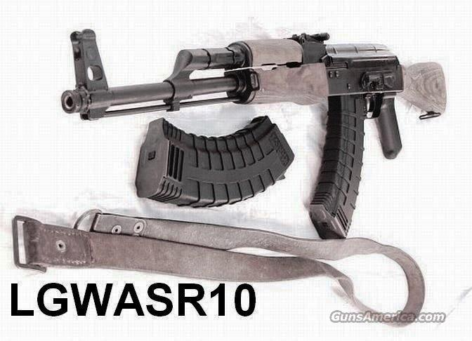 Century Arms 7.62x39 AK47 Variant WASR-10 NIB with 4 Magazines; 2 each 30 round Tapcos and two each Steel Rumanian Mags No Bayonet Lug Kalashnikov   Guns > Rifles > Century Arms International (CAI) - Rifles > Rifles