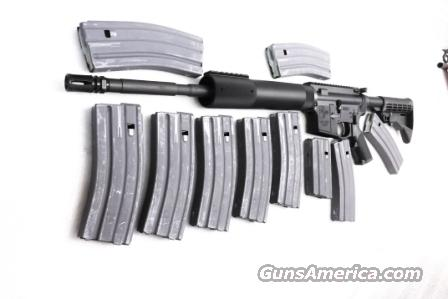 Colt .223 LE AR15 at ca. $896 with 10 Total Magazines 9 Extra at $27, All Colt Factory Light Carbine 16 inch Free Floating Flattop 6 Position Collapsible NIB 9 ea 30s & 1 each 20 Round  Guns > Rifles > Colt Military/Tactical Rifles