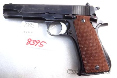 Star Spain 9mm Model BS Colt Government Size Steel Frame 1974 Israeli Police VG 1 Magazine  Guns > Pistols > Star Pistols