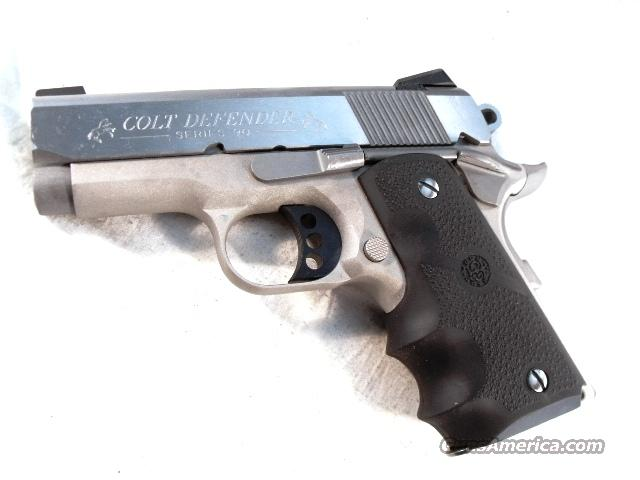 Colt 9mm Defender Stainless 3 in Compact New for 2010 NIB 2 Magazines  Guns > Pistols > Detonics Pistols