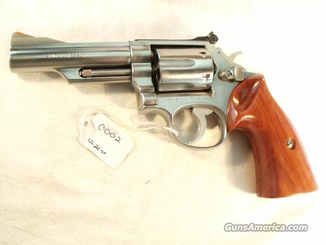 S&W .357 Model 66-1 Stainless 4 inch VG 1978 Pinned & Recessed 357 Magnum   Guns > Pistols > Smith & Wesson Revolvers > Full Frame Revolver