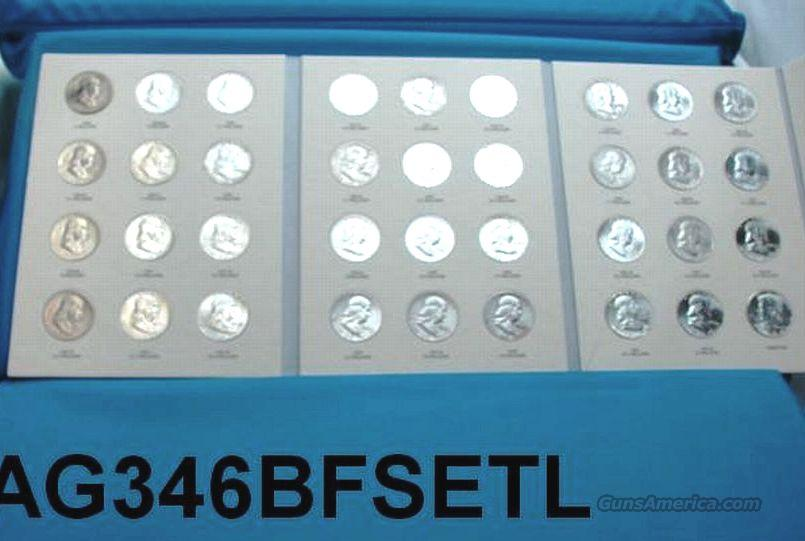 Silver: Complete Set of Franklin Halves 1948 – 1963 XF-BU 36 Halves  Non-Guns > Coins