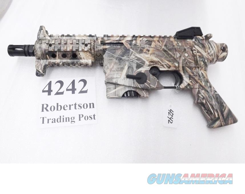 Mossberg .22 LR model 715P Camo Duck Commander AR15 type Pistol Realtree Camo Picatinny Rails 6 inch Cage Suppressor with 1 10 Shot Magazine  Guns > Pistols > Tactical Pistols Misc.